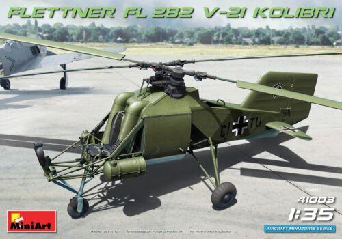 Miniart 41003-1//35 Flettner Fl 282 V-21 Kolibri Neu
