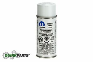 Jeep Dodge Chrysler Pw7 Bright White Touch Up Aerosol Spay