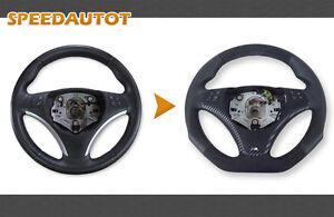 Échange Aplati Alcantara Volant en Cuir BMW M-POWER E87 E88 E90 E91 E92 Blende
