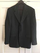 FENDI Men's Blazer Sport Coat Jacket Sz 52 EUR/42R US 100% Virgin Wool Gray