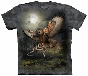 Two-Headed-Wolfalcon-Fantasy-T-Shirt-Adult-Unisex-Mountain