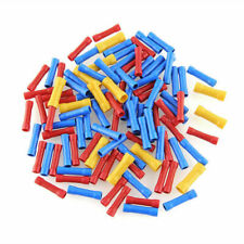 100Pcs Assorted Insulated Electrical Wire Cable Terminal Crimp Connector Set LN