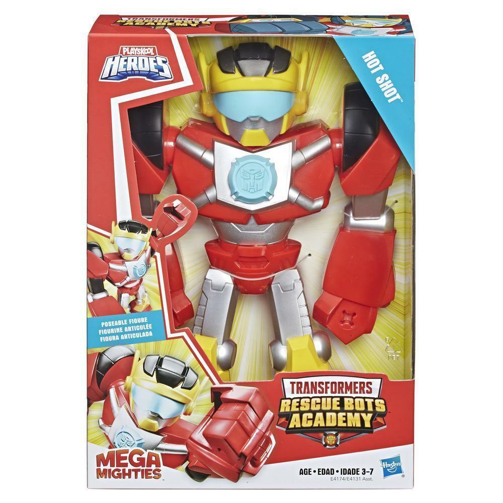 """Playskool Heroes Transformateurs Rescue Bots Academy Mega mighties 10/"""" Bumblebee"""