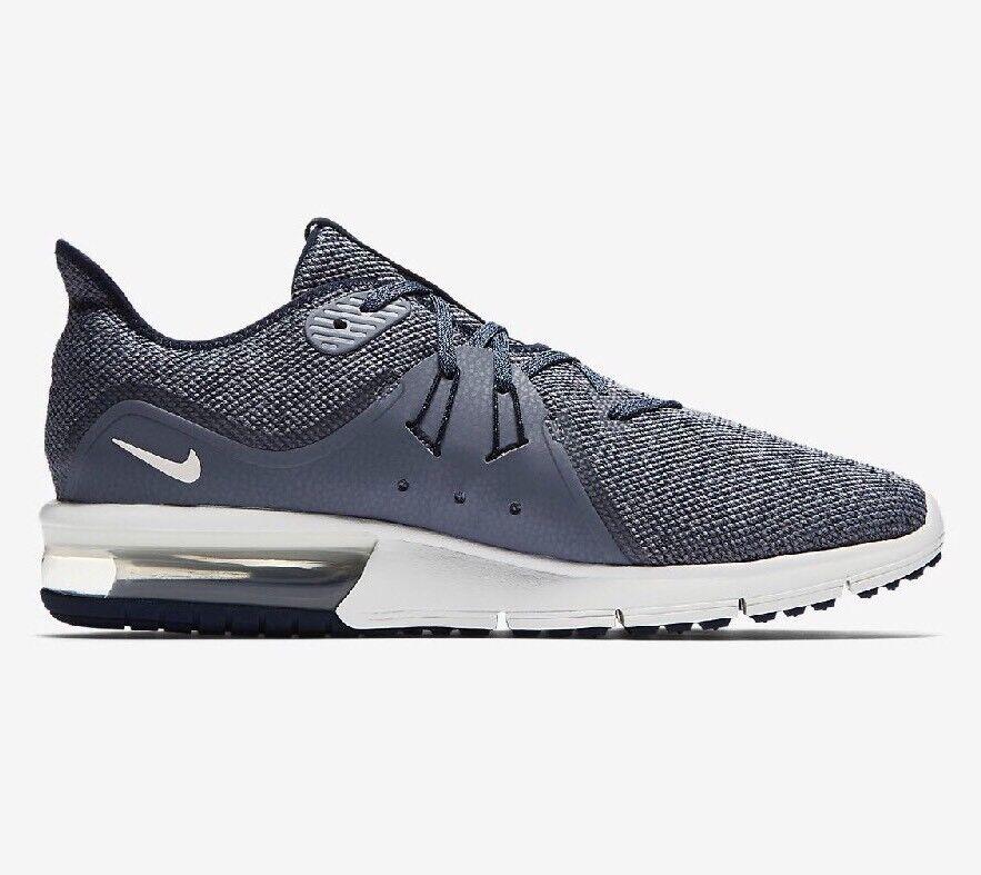 Nike Air Max Sequent 3 Homme Chaussures De Course UK 6 EU 40 921694 Bleu 402-