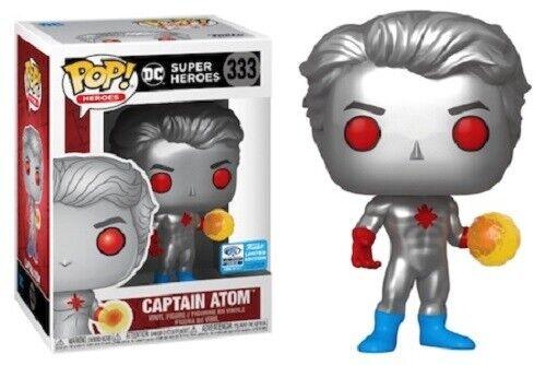 ** wondercon 2020 Pré-ORDRE ** DC Super Heroes Captain Atom Funko POP