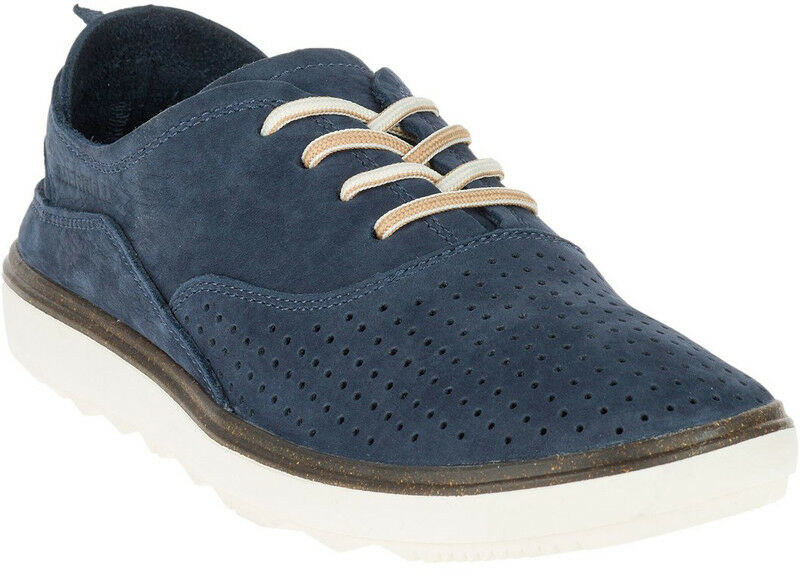 Merrell Around Town Lacets Air Lacet women blue Marine Bas Décontracté Baskets