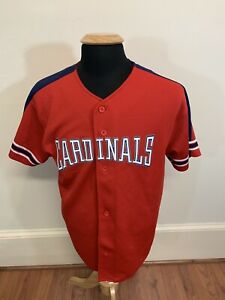 check out 2dba6 27e40 Details about Vintage Starter St. Louis Cardinals Mark McGwire Jersey Mens  Medium Red