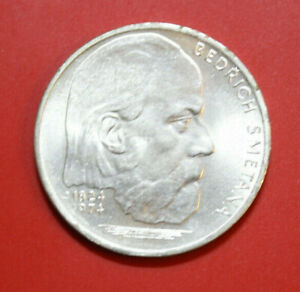 Tschechien-czechoslovakia: 100 Korun 1974 Silber, Km# 82, St-bu, #f2871 SchöNer Auftritt