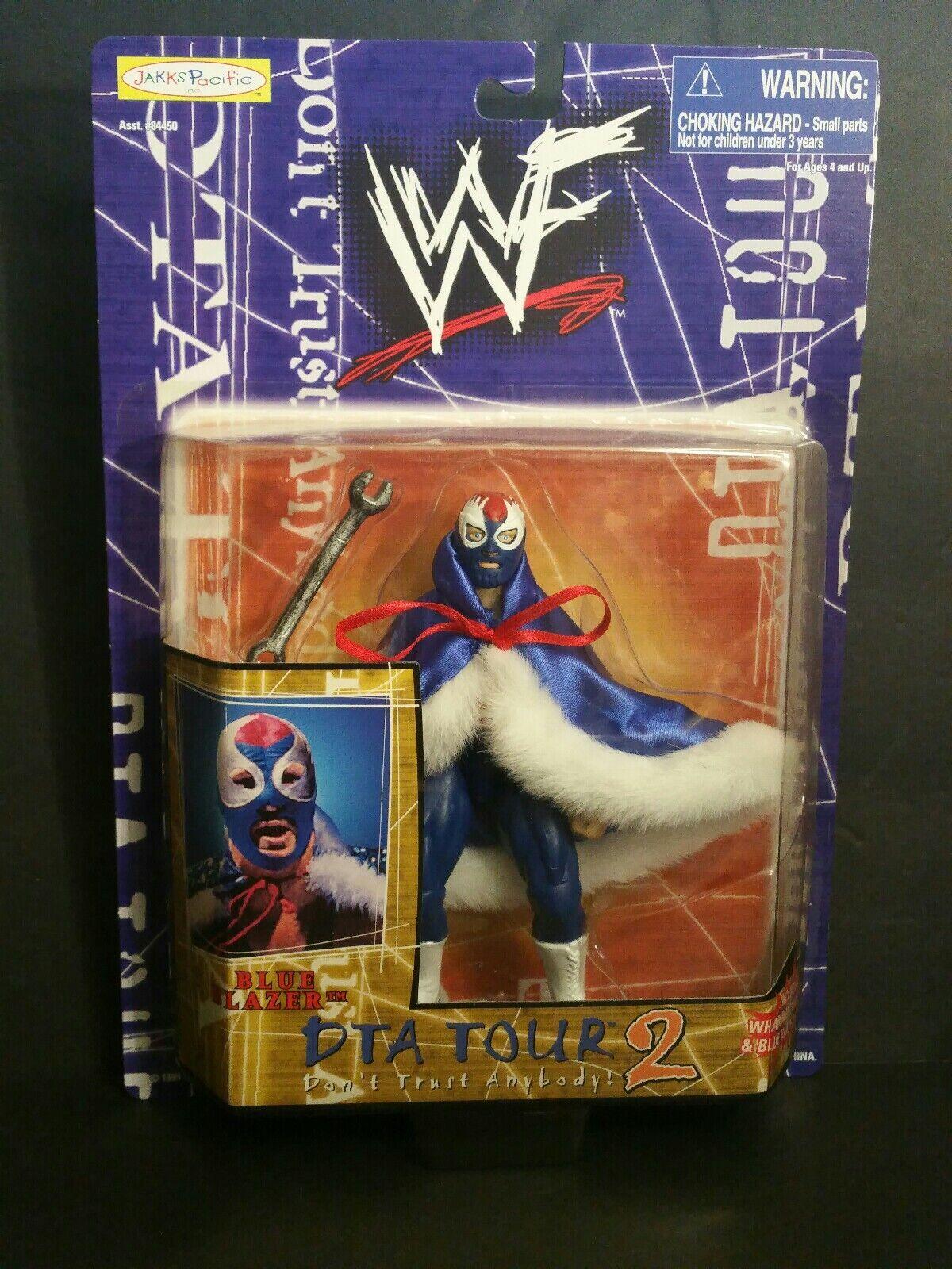 WWF DTA TOUR 2 blueE BLAZER ACTION FIGURE(107)(4-12)