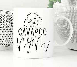Cavapoo Mug Custom Cavapoo Mug Personalized Cavapoo Gift Cavapoo Mom Cavapoo Dad