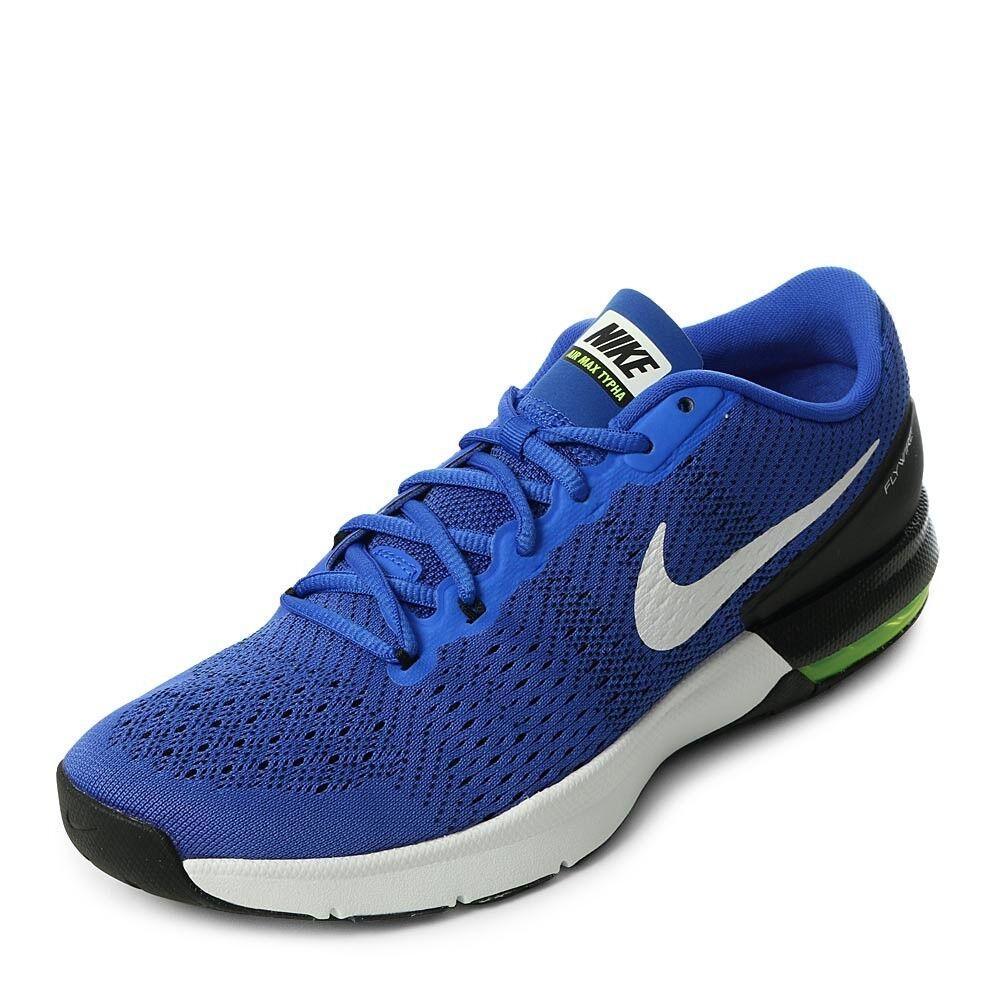 Nike air max typha männer trainingsschuhen, blau - weiße 820188 417 größe 10 - 10,5