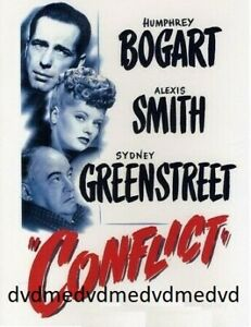 Conflict-DVD-Humphrey-Bogart-New-and-Sealed-Australian-Release