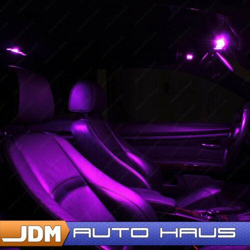 Reverse LED Lights Bulb Kit Fits Ford Expedition 2007-2014 19x Purple Interior