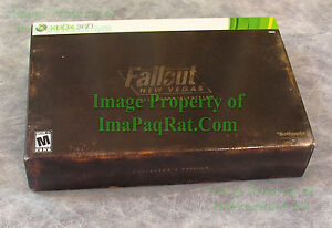 FALLOUT-New-Vegas-Collector-039-s-Edition-XBOX-360-Sleeve-Only-Replace-damaged-One