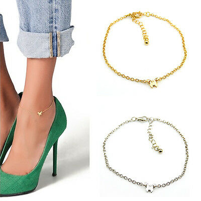 Fashion Chic Butterfly Chain Anklet Bracelet Foot Jewelry Barefoot Sandal Beach