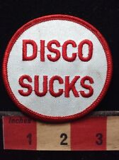 Old School Hate DISCO DANCE & MUSIC Patch 1980s / 1990s Era 72Y8