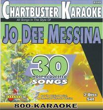 Chartbuster Karaoke 2 Disc Artist Series CD+G Set 8599 Jo Dee Messina 30 Songs