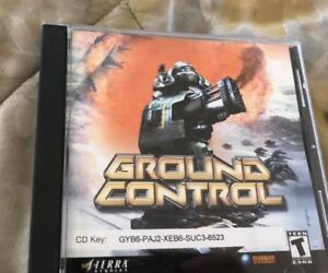 Ground-Control-PC-CD-Computer-game-Complete