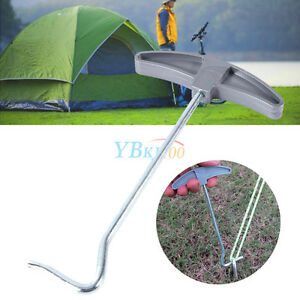 Image is loading Tent-Peg-Puller-Remover-Awning-Caravan-C&ing-Extractor-  sc 1 st  eBay & Tent Peg Puller Remover Awning Caravan Camping Extractor EDC Tool ...