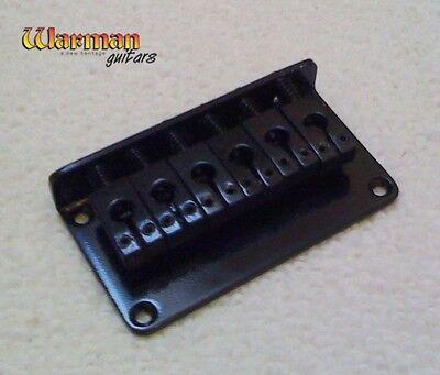 Hardtail satin black quality guitar bridge
