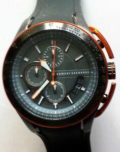 Armani-Exchange-Chronograph-Grey-Dial-Men-039-s-Watch-AX1402
