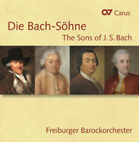 Bach / Kaiser / Brue - Die Bach-sohne-the Sons Of J. S. Bach [new Cd] on Sale