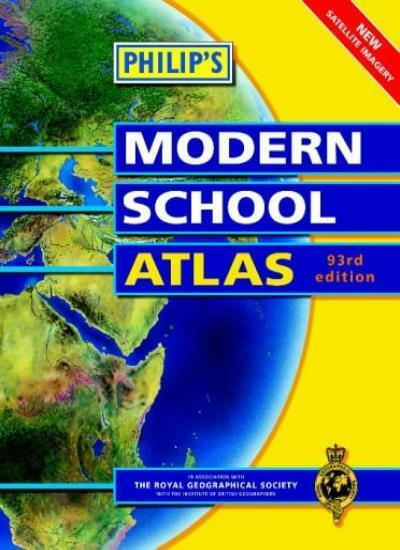 Philip's Modern School Atlas (World Atlas),Philip's