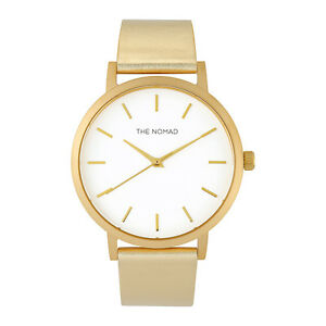 The-Nomad-Watch-Unisex-Leather-Watch-GOLD