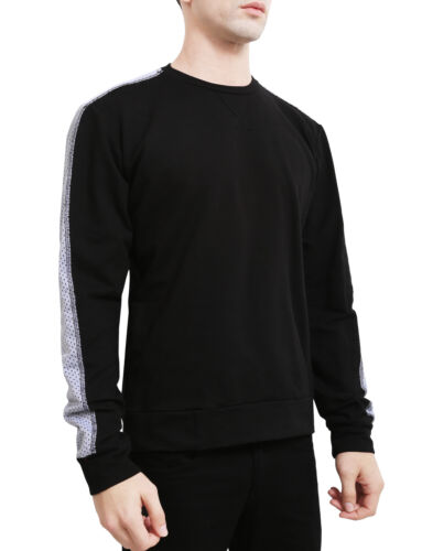 Folk Sweatshirt Weight Light Langærmet Ne Pullover Mesh Nemt34 mænd Crew Neck dzwq7qU