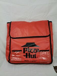 Pizza Hut Delivery Insulated Bag Hot Red