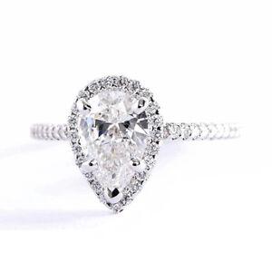 Anillo de compromiso en diamante