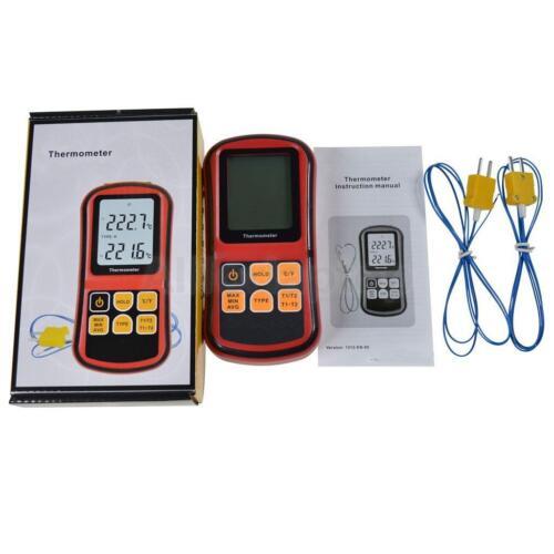 K-Type Digital Thermometer mit Thermocouple Sensor Temperaturfühler Tester Meter