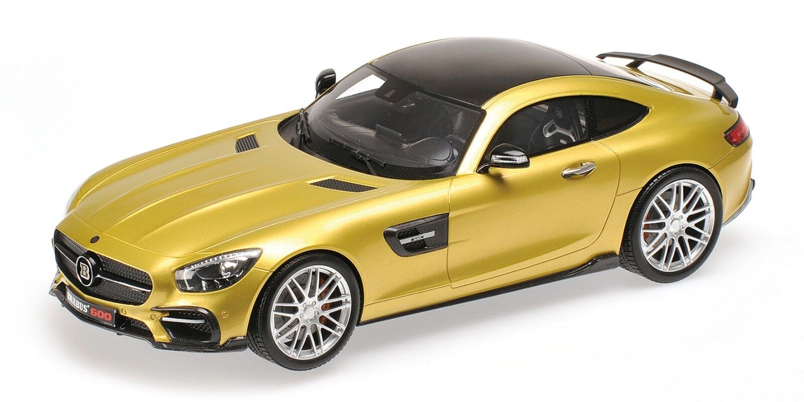MERCEDES BRABUS 600 C 63 GT S AMG 2015 or MINICHAMPS 437032522 1 43 BENZ