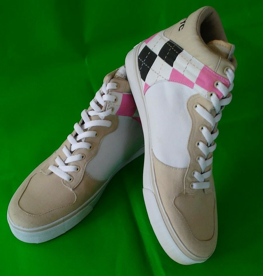 ALIFE NYC RTFT EVERYBODY HIGH ARGYLE TAN PINK BROWN WHITE SS01 NEW 10