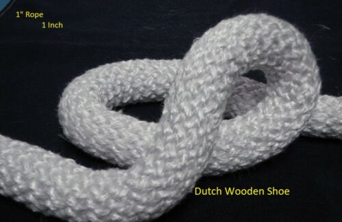 1 inch 1 White Gasket rope 30 Feet Outdoor Stove Pellet wood Stove Furnace .
