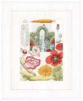Vegetable Garden - Marjolein Bastin/lanarte Cross Stitch Kit W/14 Ct. Aida