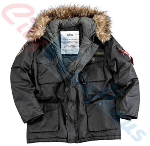 Industries Longue Alpha 133143 D'hiver Hommes Parka Hiver Montagne Veste UTxdPApq