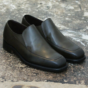 322e9e1918d0f Image is loading NEW-Grenson-Khaki-039-Westminster-039-Leather-Loafers-