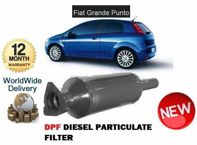 For Fiat Grande Punto 13d 2005 Dpf Diesel Particulate Soot Exhaust