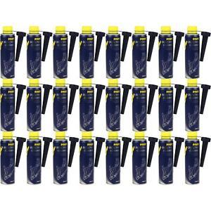 24x300ml-9981-MANNOL-kraftstoffadditiv-Injector-Cleaner-automovilistica-limpiador