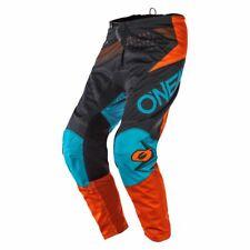 ONEAL Hardwear Reflexx MX DH MTB Pant Hose lang grau//wei/ß 2020 Oneal