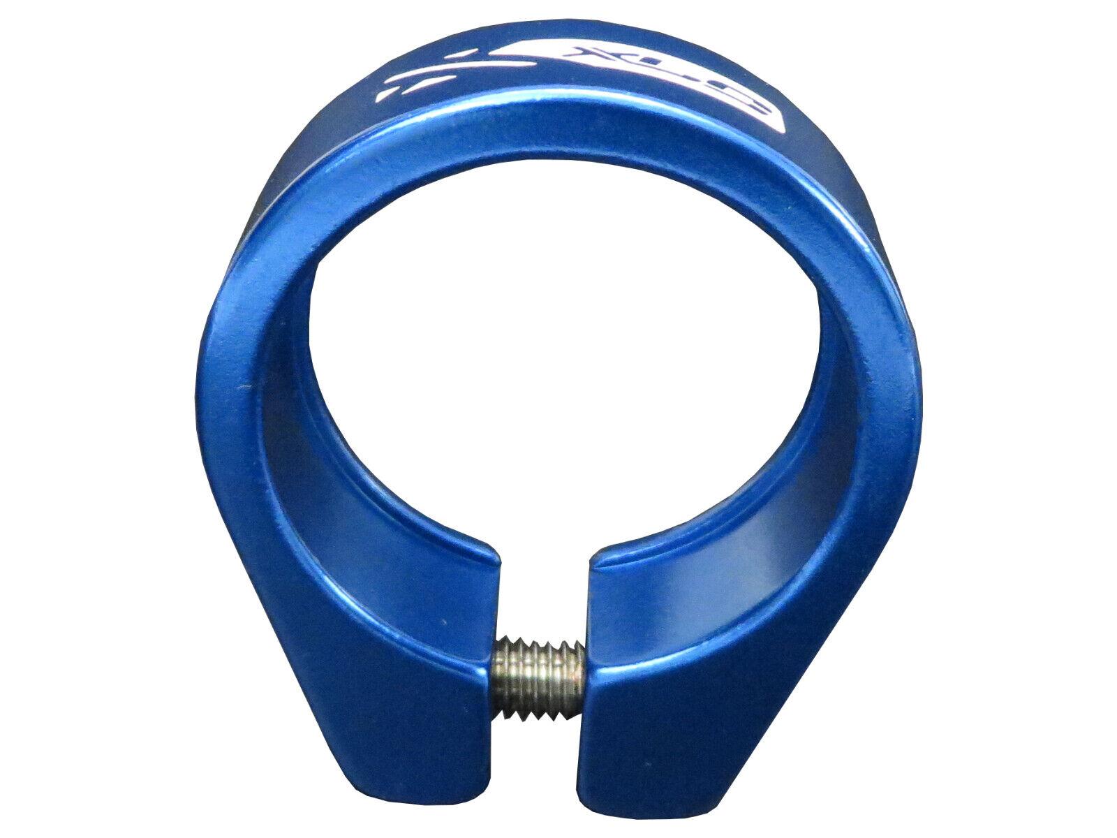 XLC Sattelklemme PC-L01 Alu 34,9 mm silber mit Schnellspanner Klemmring