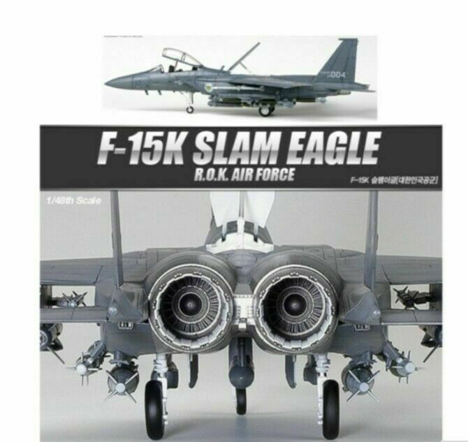 Academy 12213  Plamodel F-15K Slam Eagle ROK Air Force Model 1 48 Scale iaj