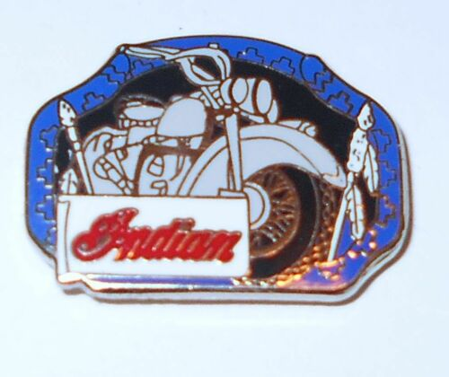 "Indian Motorcycle Hat Pin Cloisene 1/"""