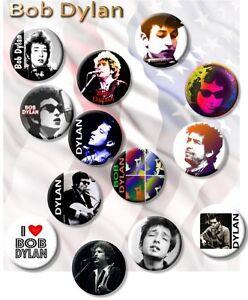 "25mm 1/"" Button Badge Bob Dylan"