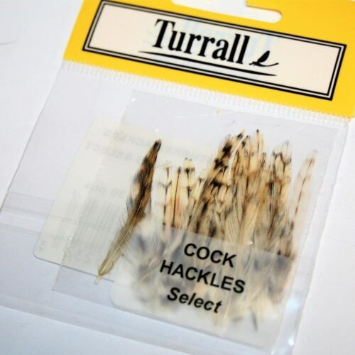 Turrall Cock Hackles Select Olive Light