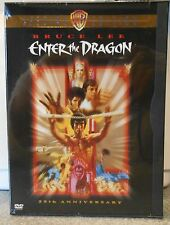 Enter the Dragon (DVD 1998 25th Anniversary Special Edt) RARE 1973 BRUCE LEE NEW