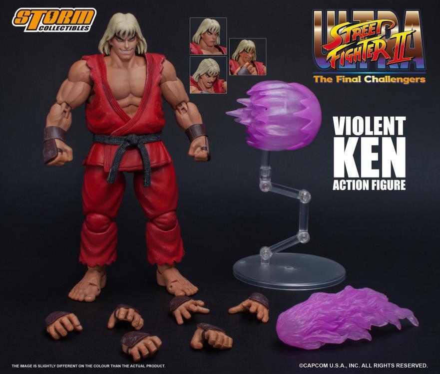 STM87063 : Storm Collectibles Violent Ken Ultra Street Fighter II Actionfigur