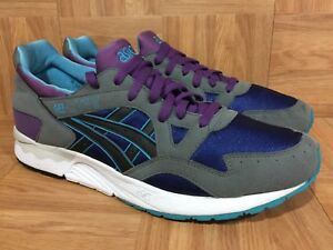 sold worldwide latest fashion half off Details about RARE🔥 Asics Gel Lyte 5 V Gray Black Purple Sz 13 H312N Men's  Running Shoes Nice