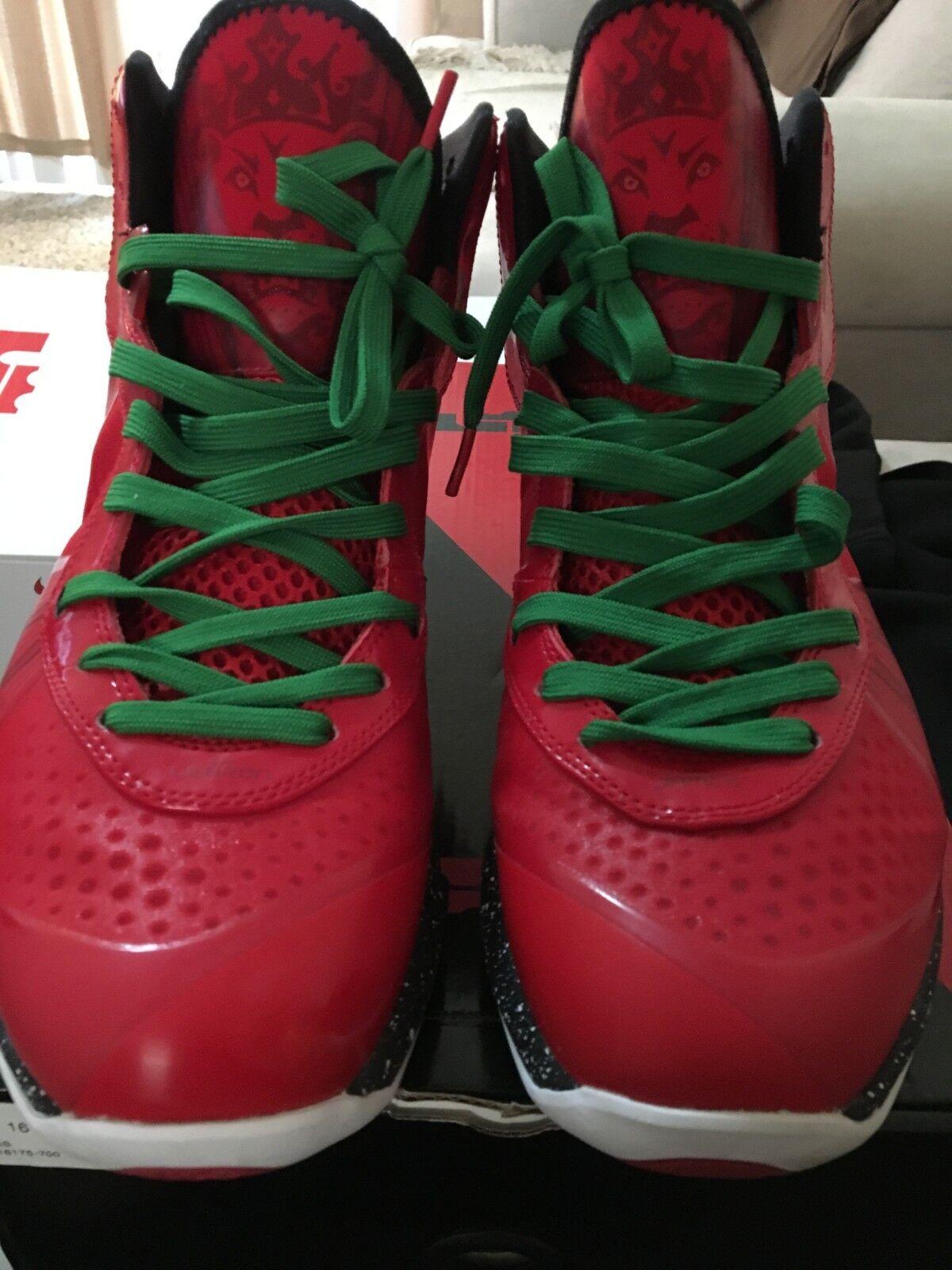 Nike Lebron 8 VIII V 2 Christmas Sz. 11